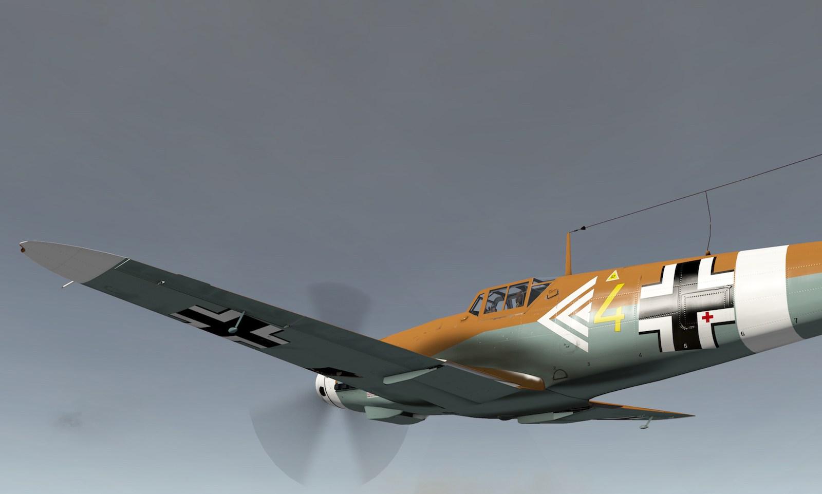 MLAeroDG Me-109 overview 1