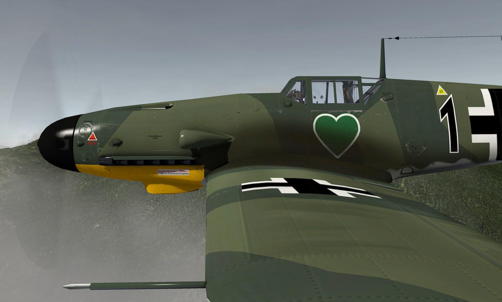 MLAeroDG Me-109 overview 10