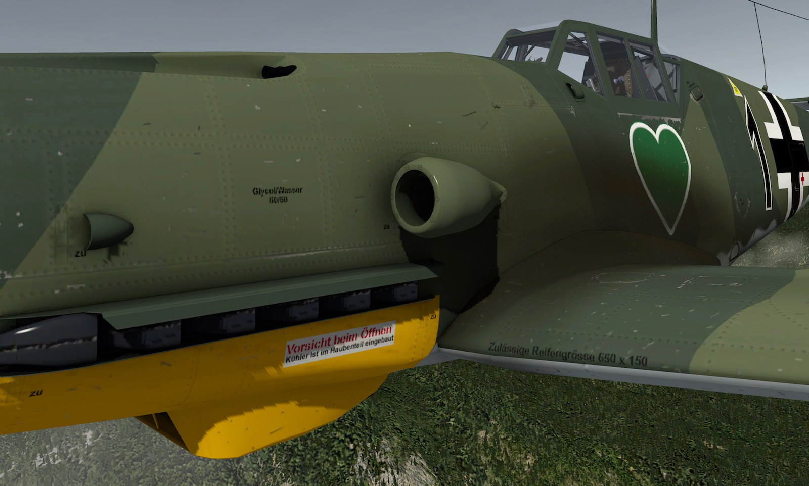 MLAeroDG Me-109 overview 11