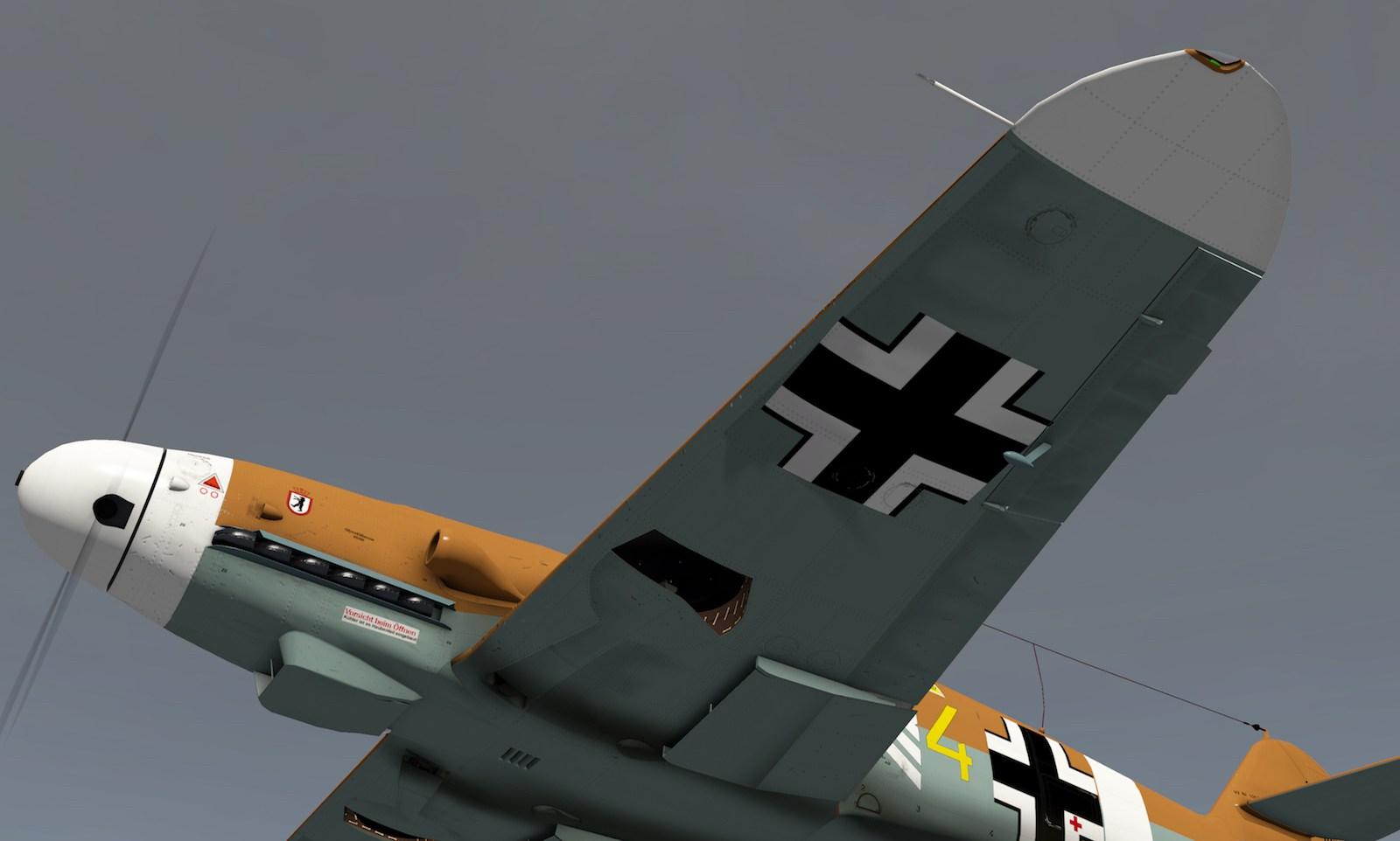 MLAeroDG Me-109 overview 3