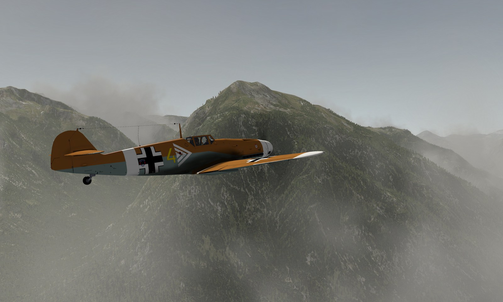 MLAeroDG Me-109 overview 4