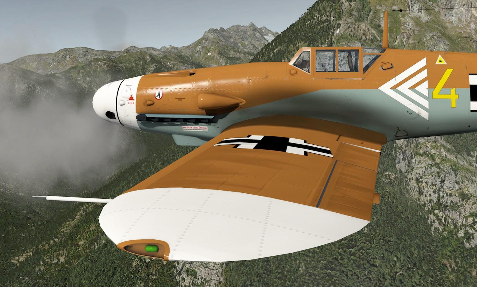 MLAeroDG Me-109 overview 5