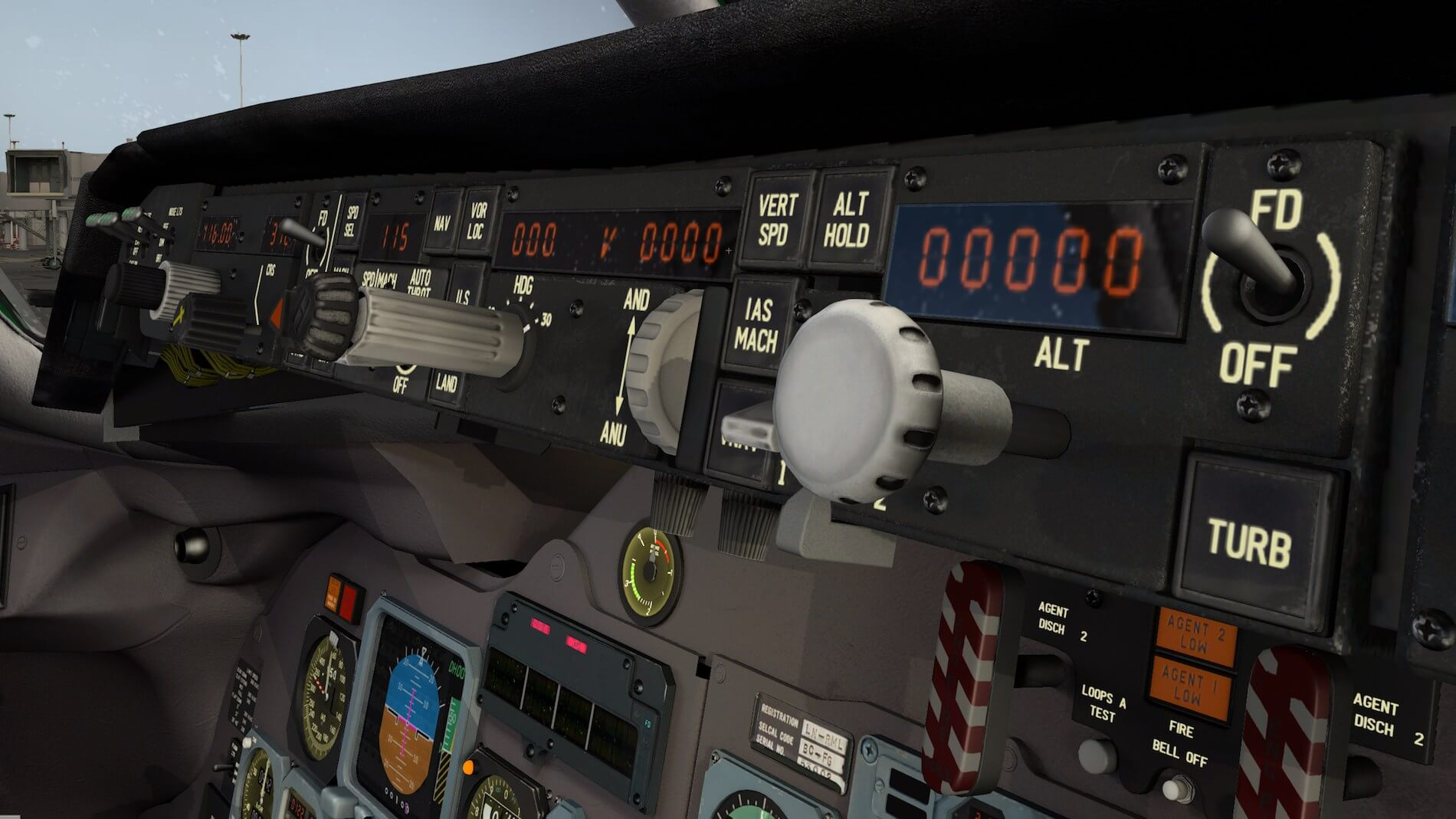 Rotate-MD-80 3D cockpit overview 5