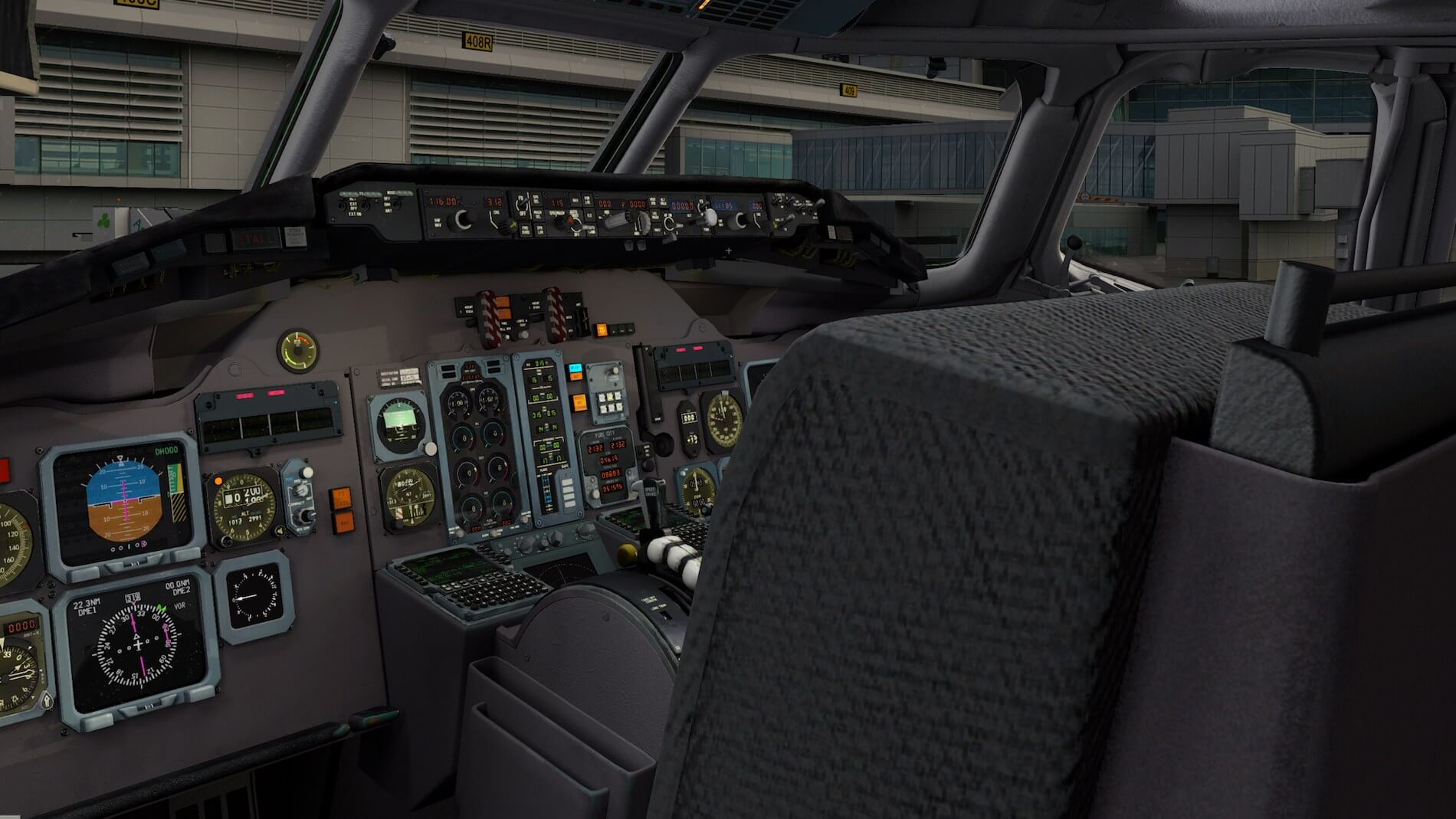 Rotate-MD-80 3D cockpit overview 8