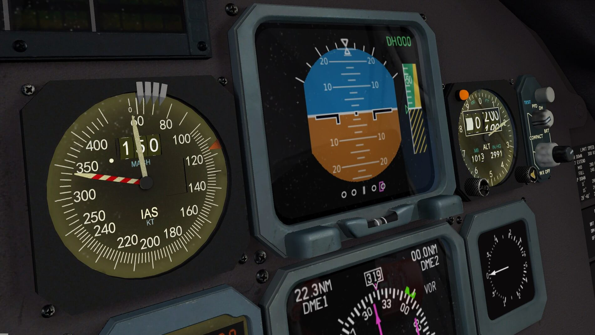 Rotate-MD-80 3D cockpit overview 9