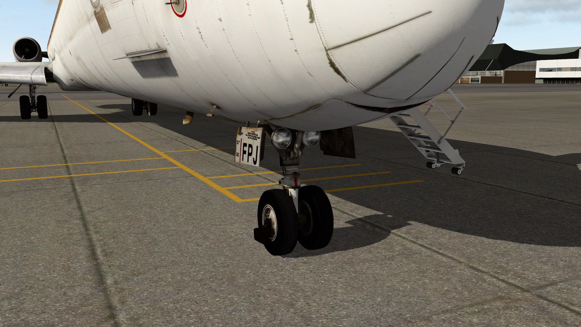 Rotate MD-88 Iberia Flight EHAM-GCTS 17