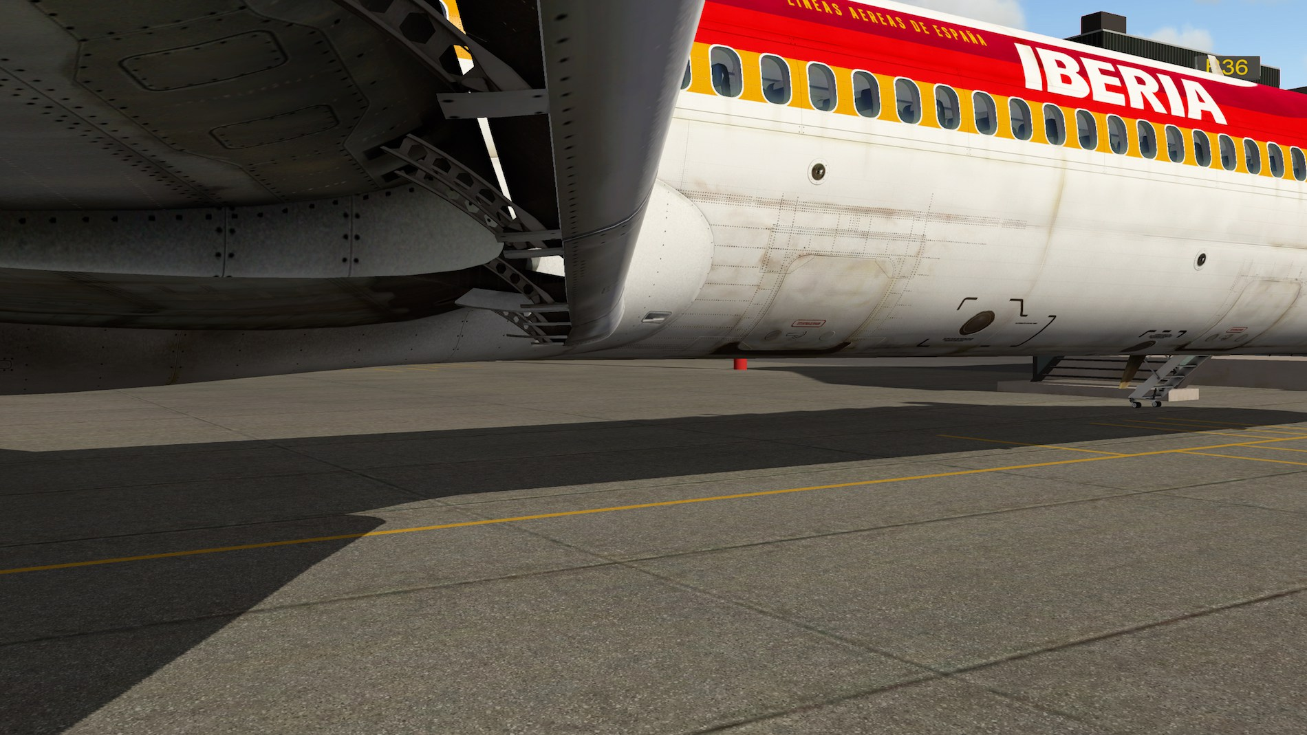 Rotate MD-88 Iberia Flight EHAM-GCTS 18
