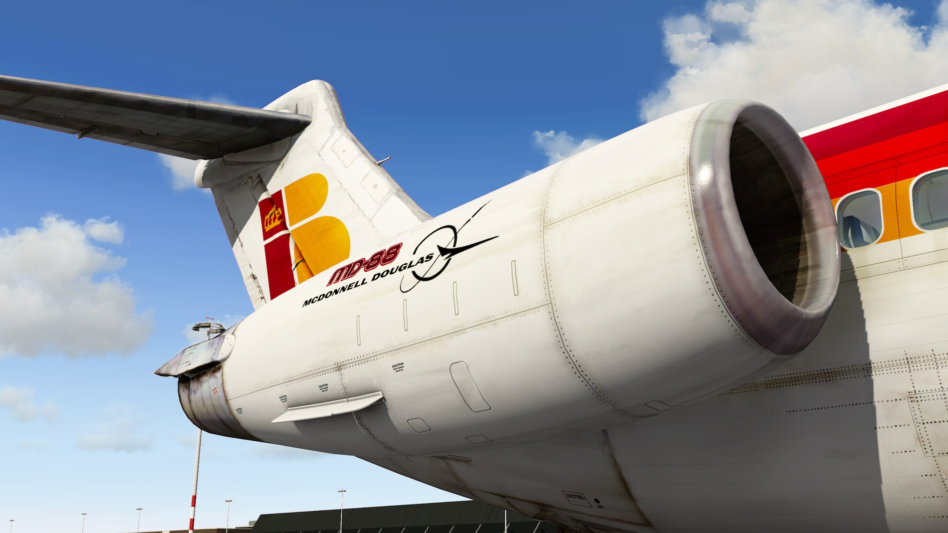 Rotate MD-88 Iberia Flight EHAM-GCTS 20
