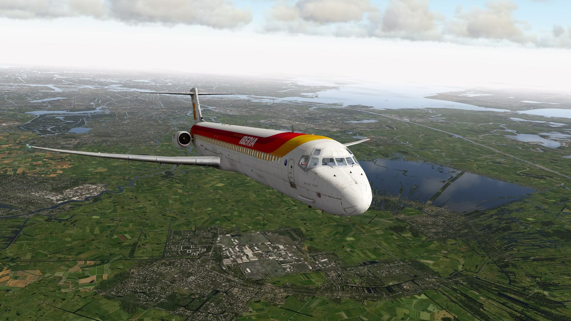 Rotate MD-88 Iberia Flight EHAM-GCTS 29