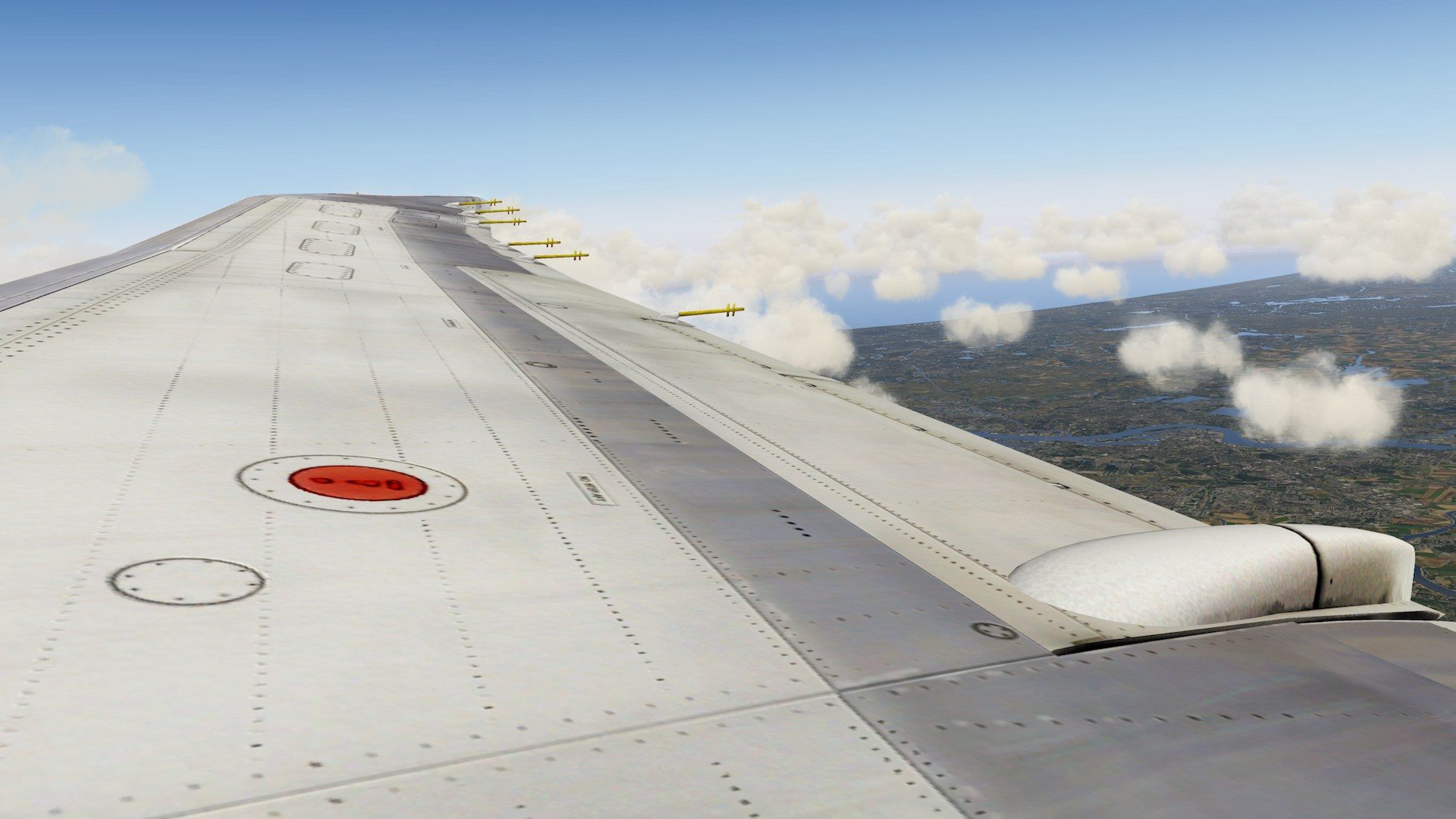 Rotate MD-88 Iberia Flight EHAM-GCTS 33
