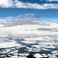 Antarctica4XPlane-MountErebus