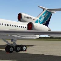 Felis_Tupolev-Tu154M-model