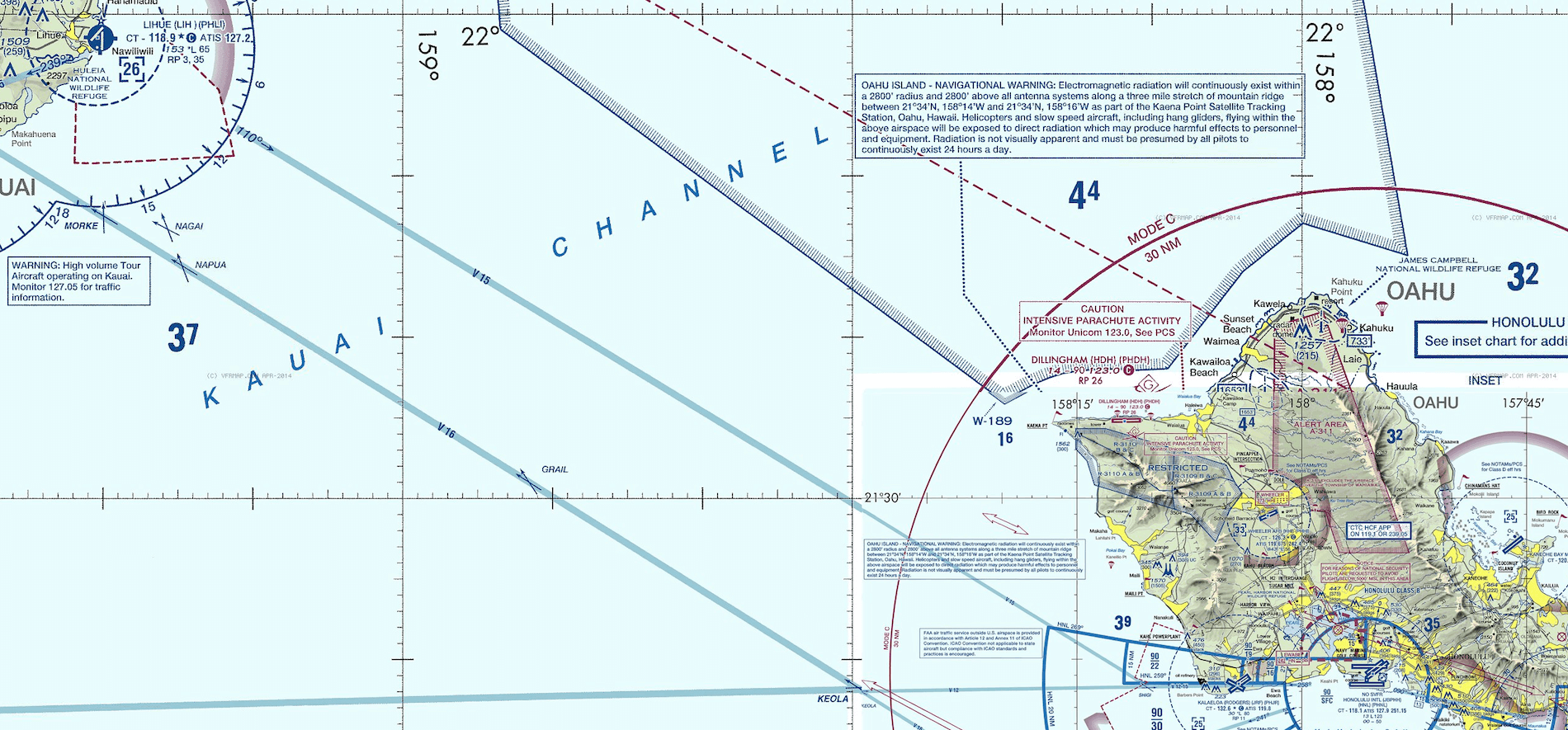 Naps hawaiian island hopping part i x plained the source for after takeoff my intention is to fly a more or less straight line to honolulu international airport pooptronica Choice Image