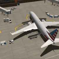 x-plane-11-b737-with-service-trucks