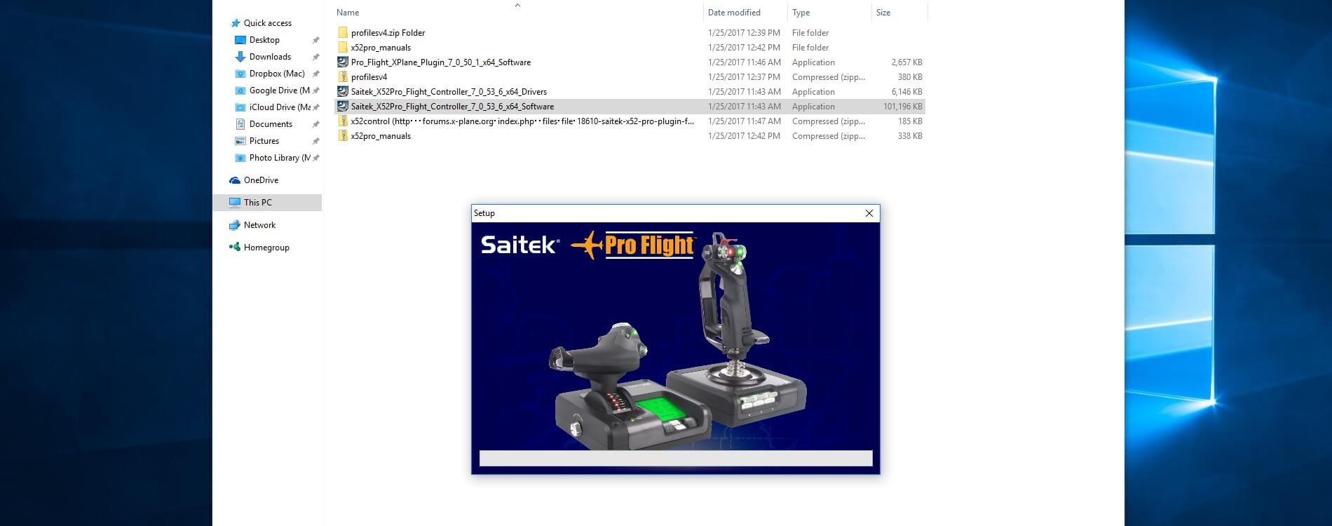 saitek drivers page not working