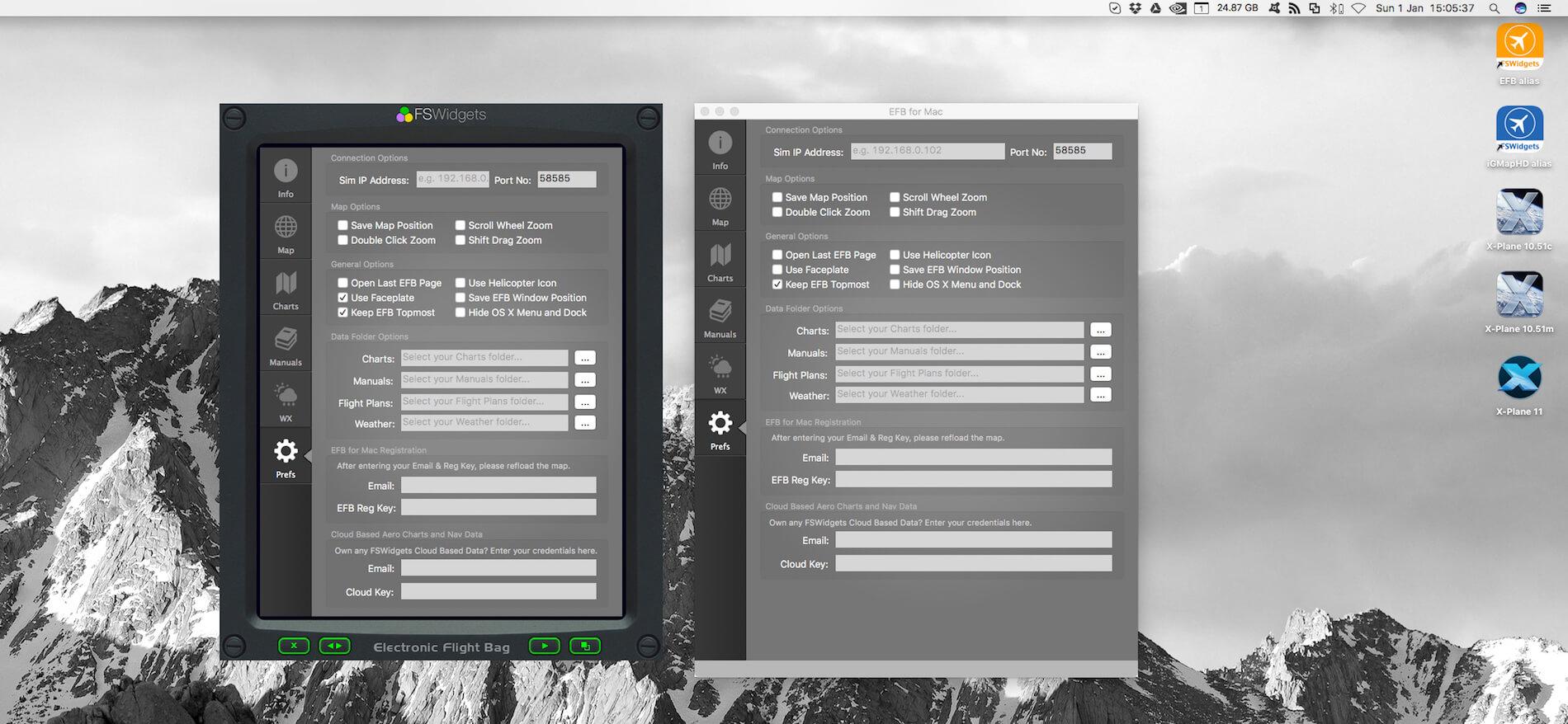FSWidgets EFB for Mac Impressions   X-Plained, the Source