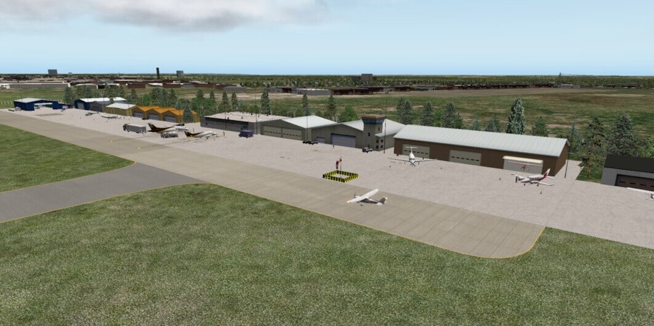 Prefab Scenery for 25K Airports | X-Plained, the Source for
