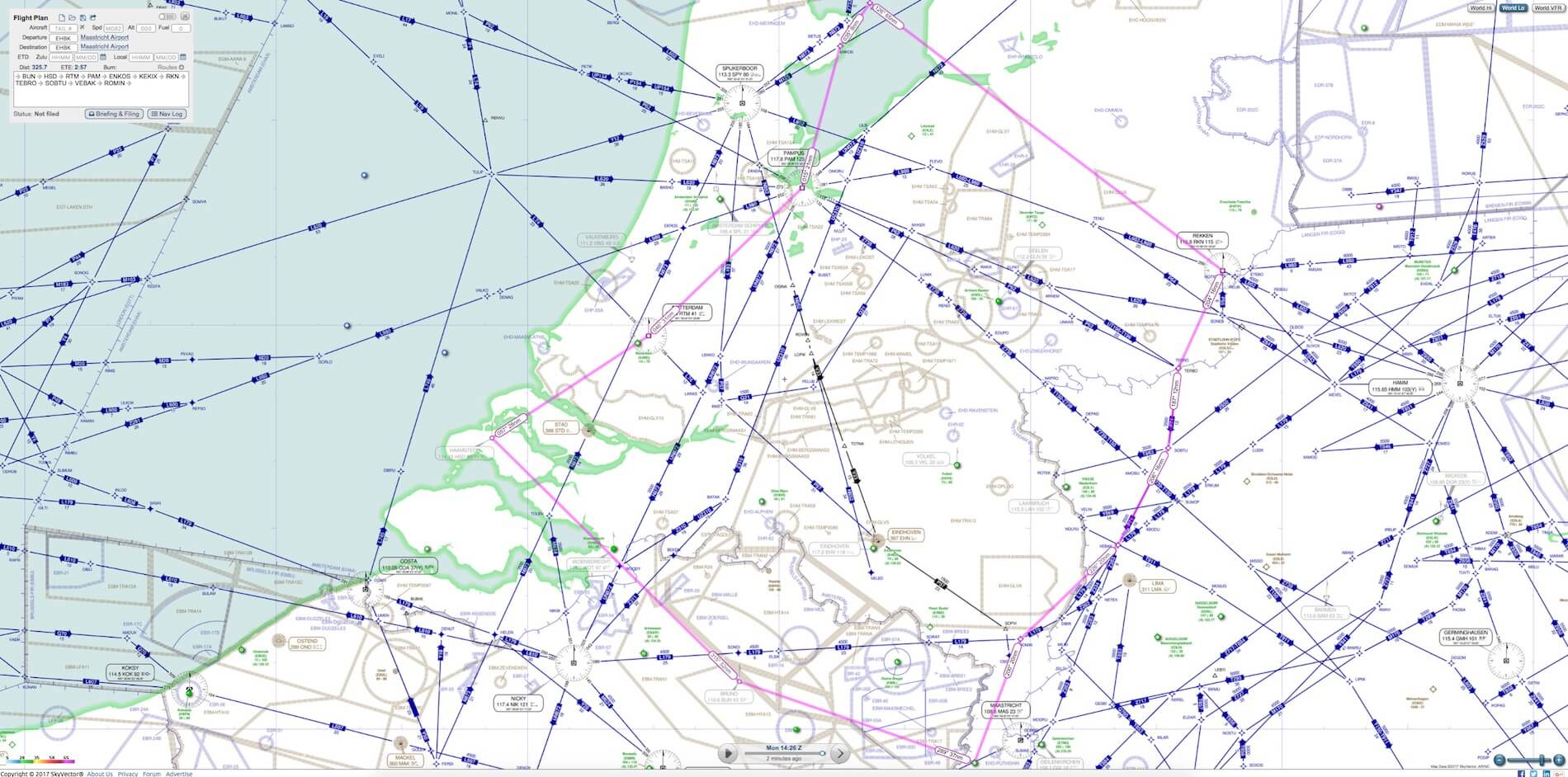 Skyvector flight vfr planning - Screenshots Ifr Map Vfr Map And The Ehbk Ehbk Fp Made With The Help Of Skyvector