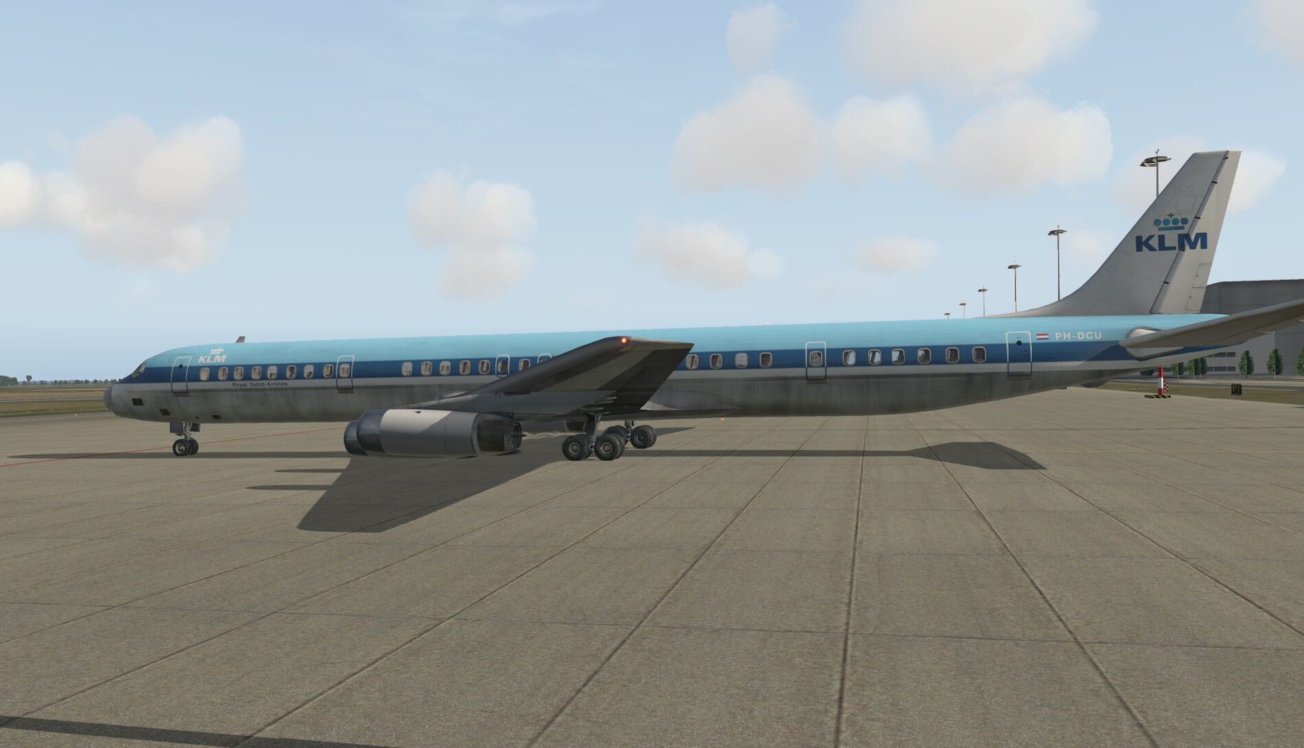 Overall a nice and good-looking DC-8-63 although I would appreciate, not  only for me, but for all those simmers who bought this aircraft or those  who are ...