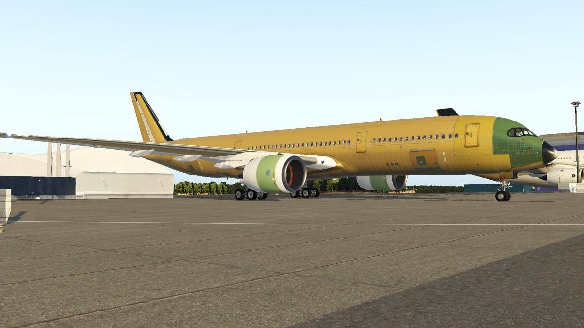 Airbus FlightFactor A350 Factory Rollout   X-Plained, the