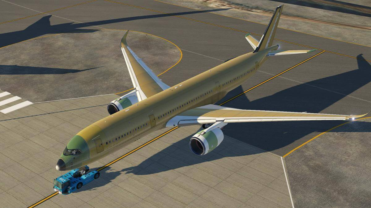 Airbus FlightFactor A350 Factory Rollout | X-Plained, the