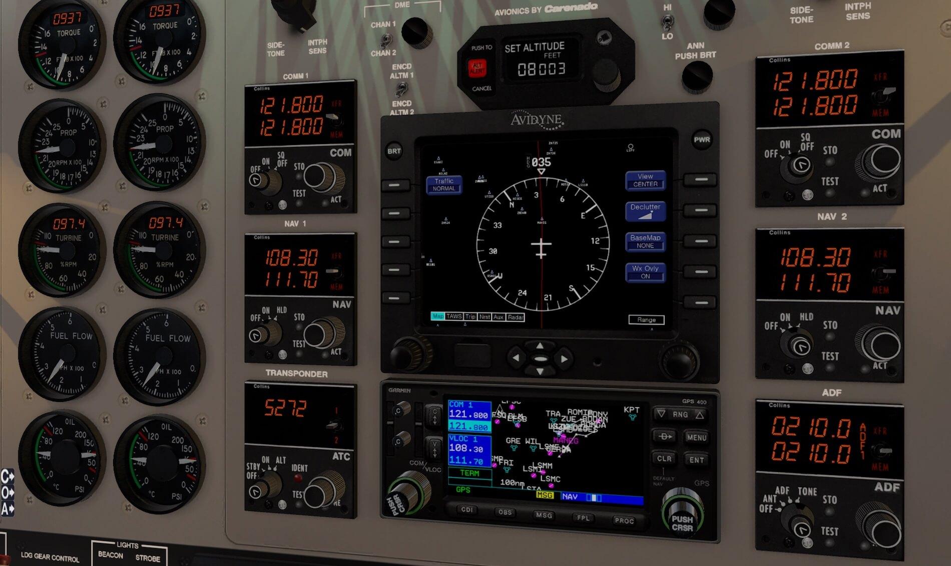 Review   Carenado C90B King Air for X-Plane 11   X-Plained, the