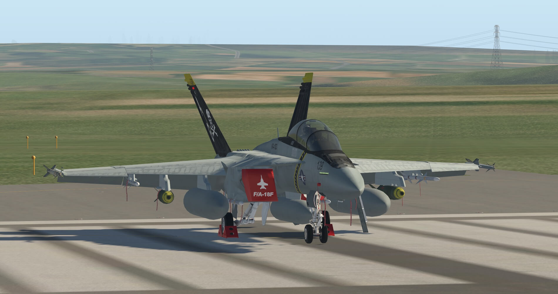Review Colimata Fa 18f X Plained The Source For All Your F18 Jet Engine Diagram When Viewed With Engines Running Lights Are Clear And Bright Detail Remains High Model Fits In To Scenery Plane Very Well