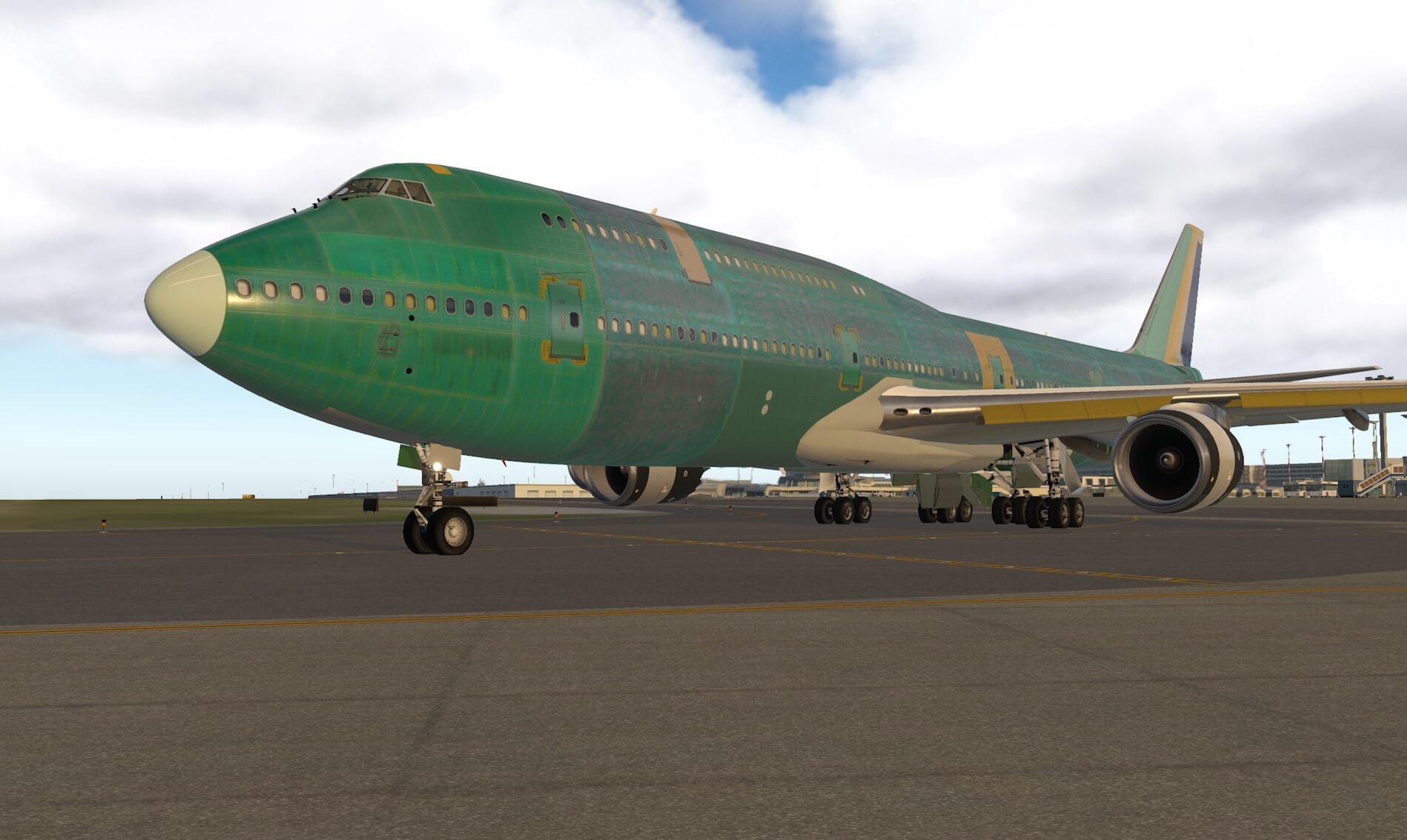 Screenshot Impression SSG 747-8i Factory Rollout | X-Plained