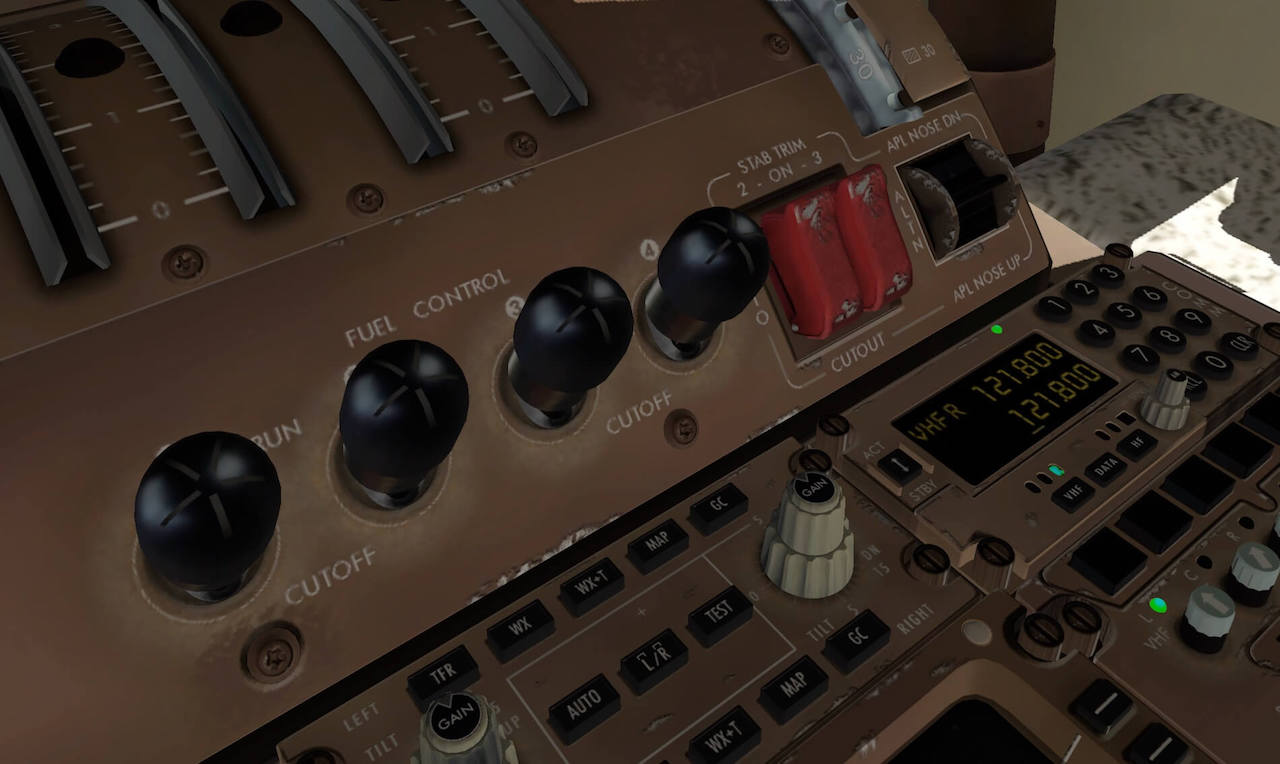 Weathered SSG 747-8 Cockpit Textures | X-Plained, the Source