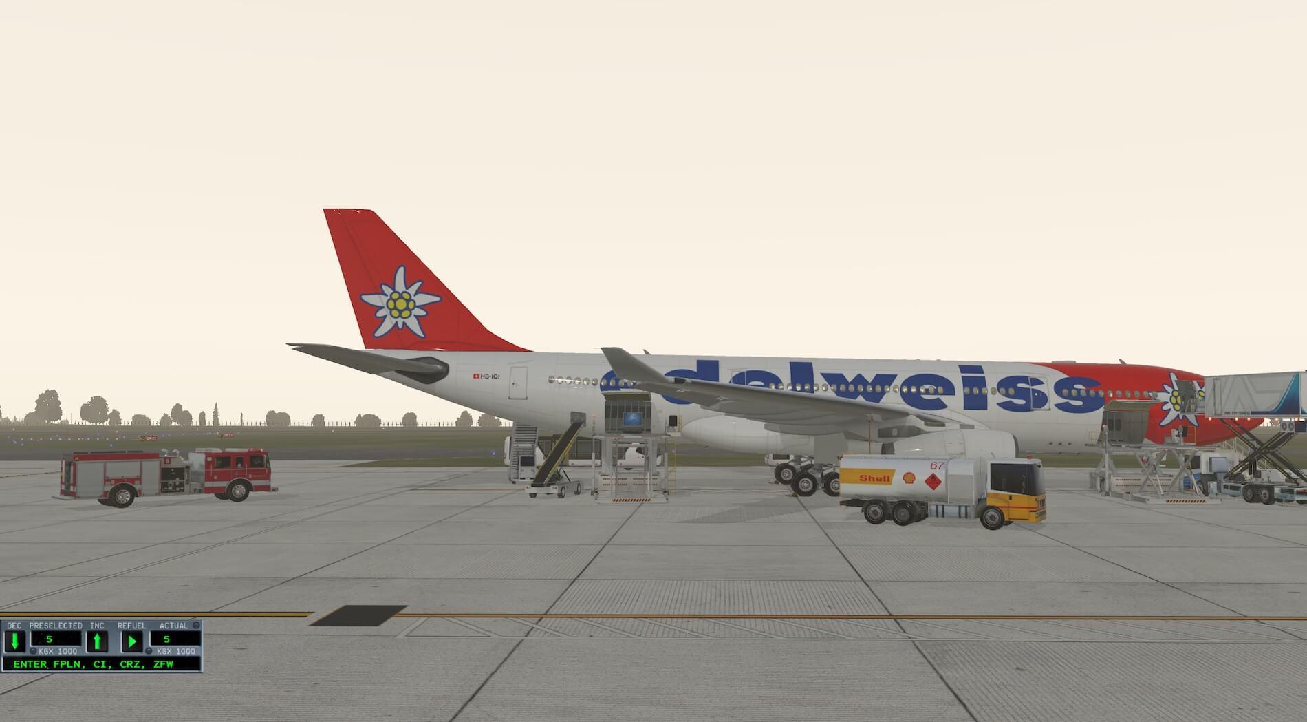 X Plane Better Pushback Plugin