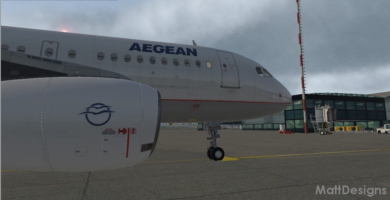 A319 Aegean Airlines | X-Plained, the Source for All Your X