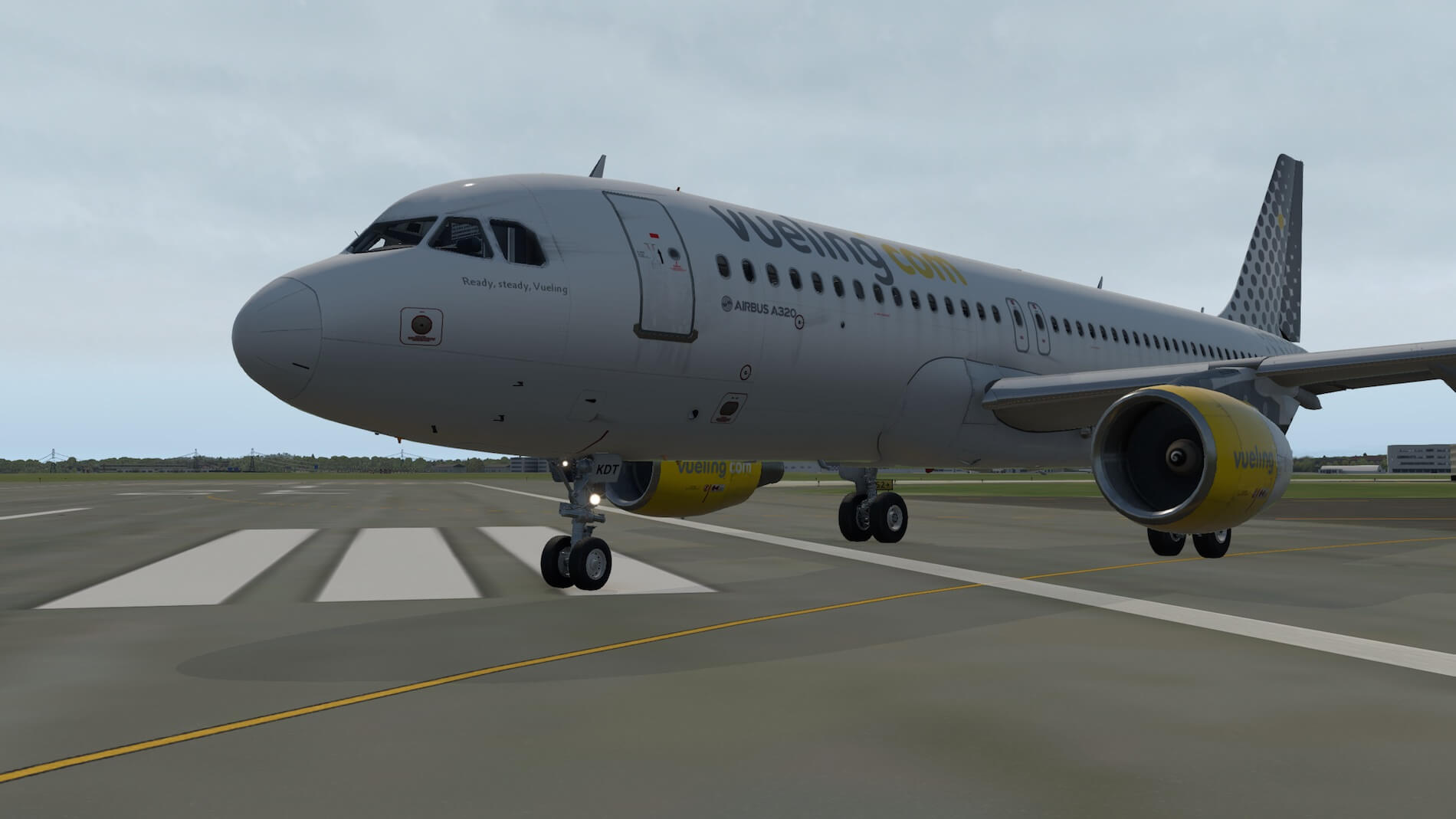 Exclusive Screenshot Flight Factor A320 Impression | X