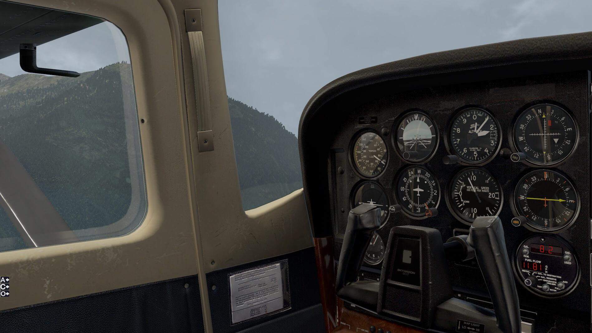 Xplane 11 Cessna 206