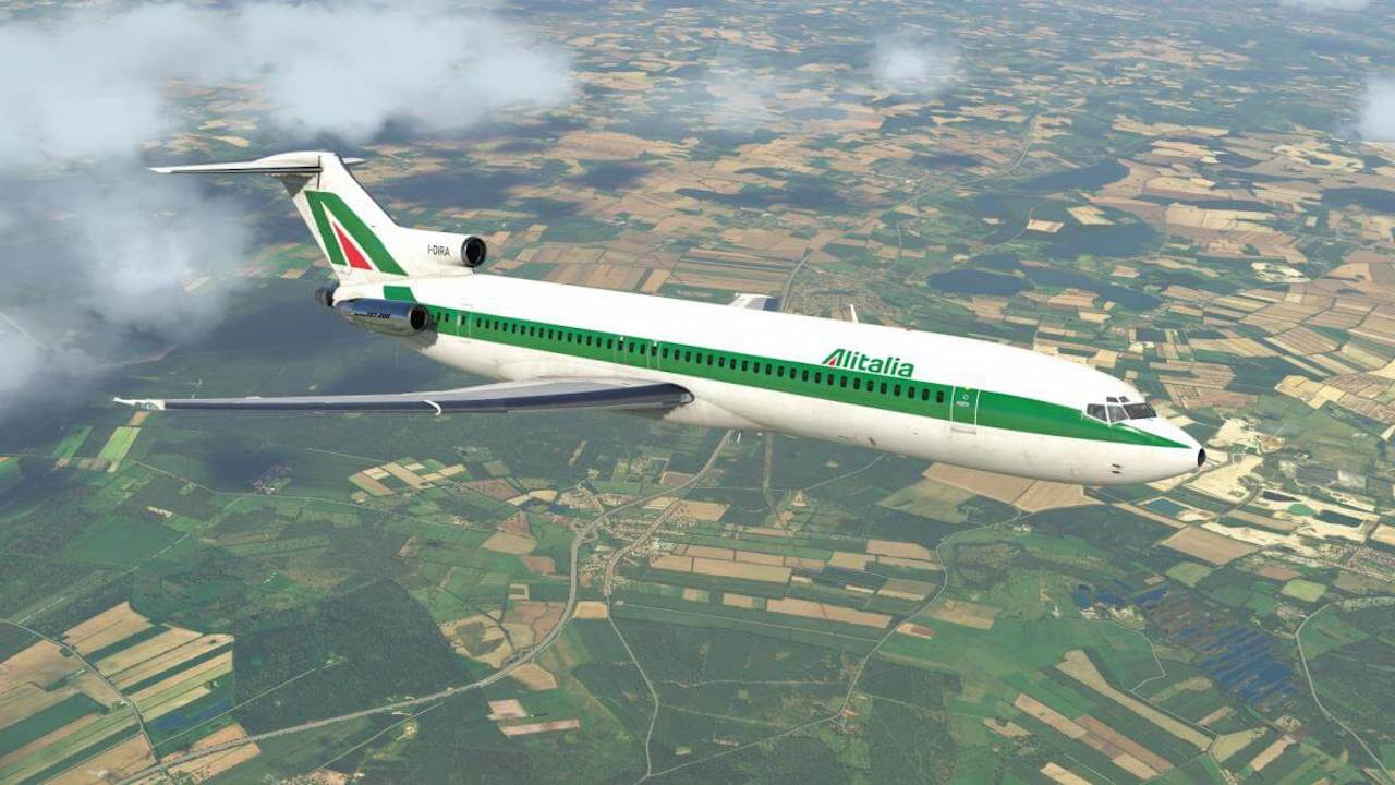 722A | Alitalia | X-Plained, the Source for All Your X-Plane