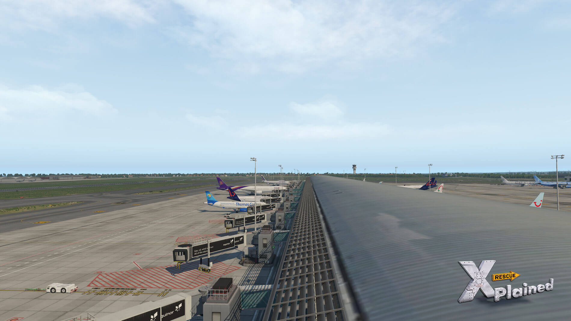 JustSim-EBBR-Airport-13