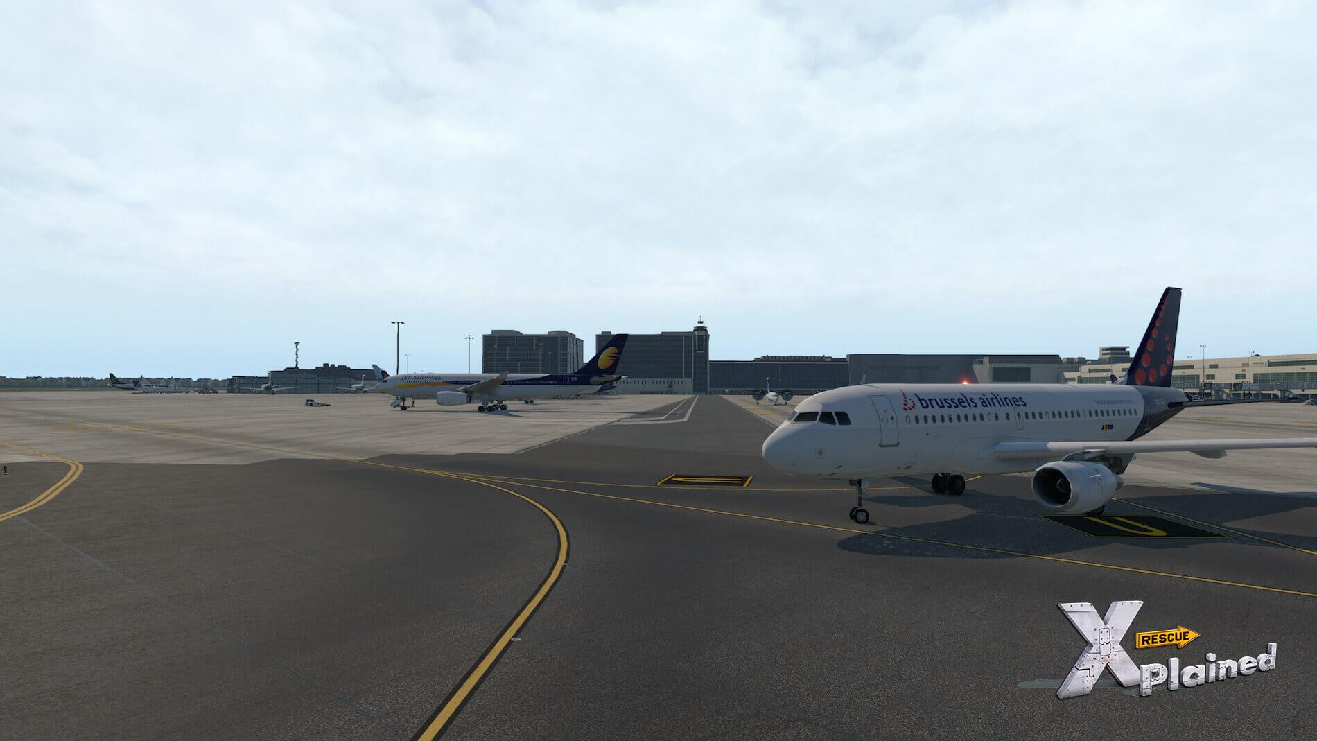 JustSim-EBBR-Airport-27