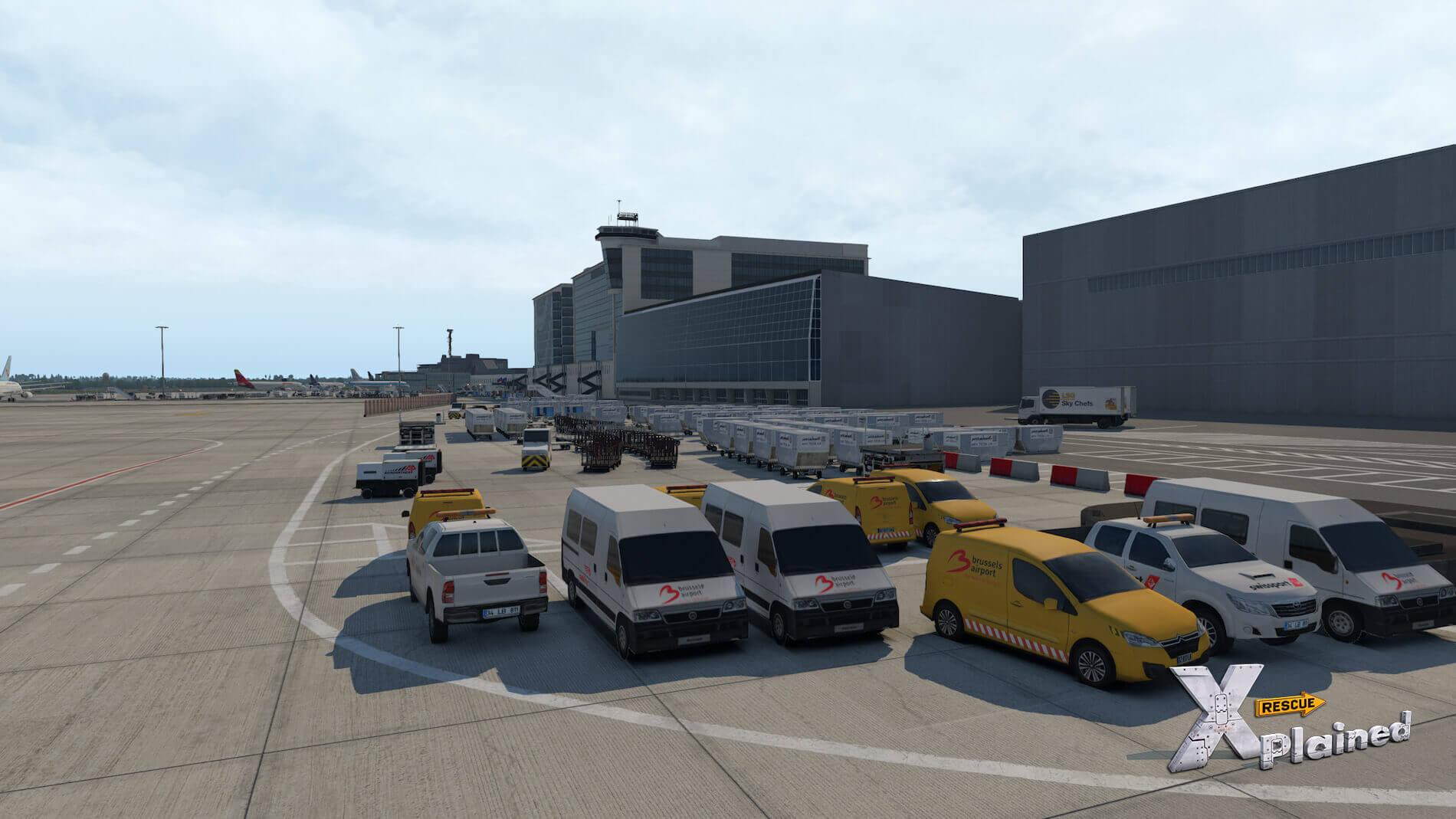 JustSim-EBBR-Airport-34