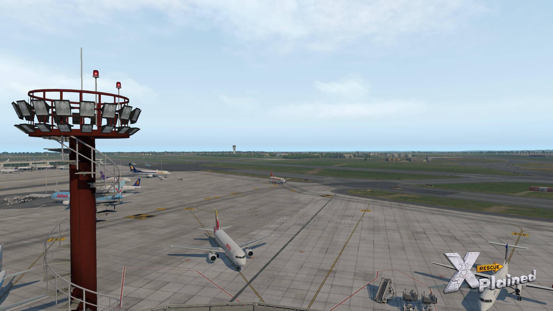 JustSim-EBBR-Airport-35