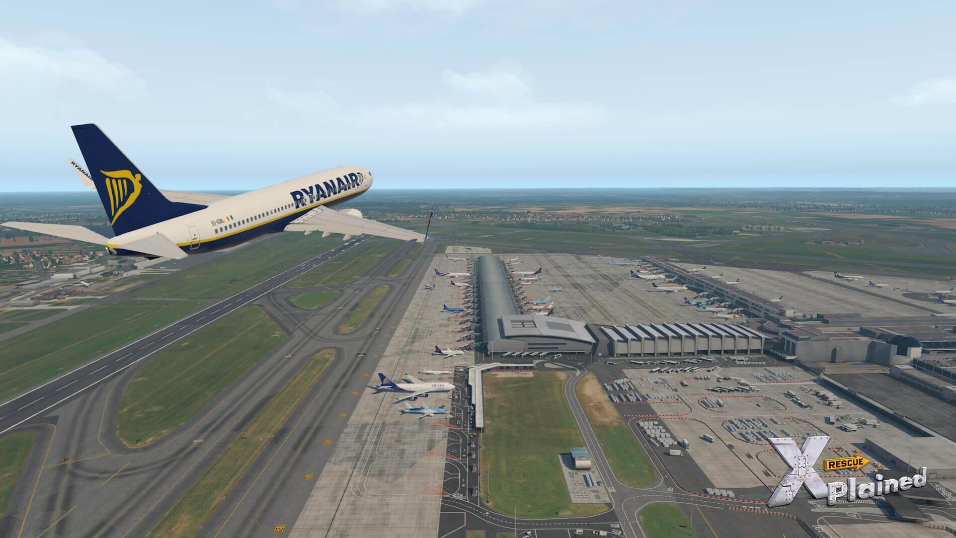 JustSim-EBBR-Airport-37