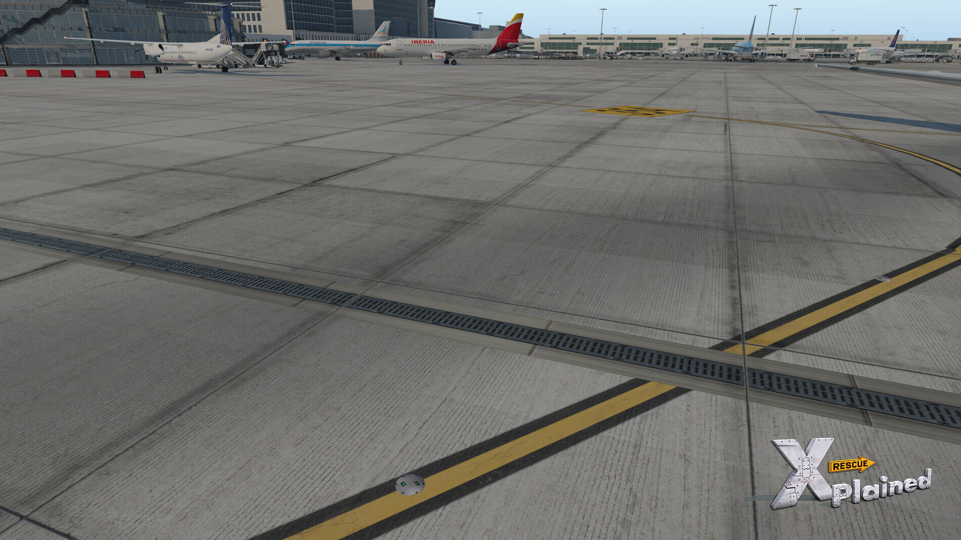 JustSim-EBBR-Airport-43
