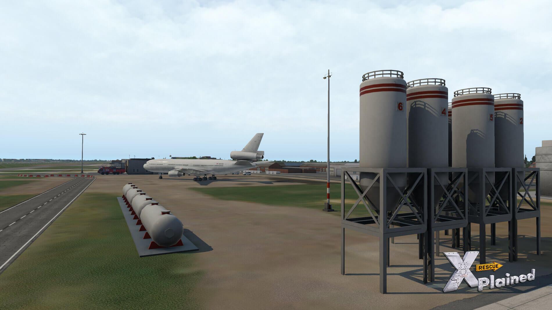 JustSim-EBBR-Airport-45