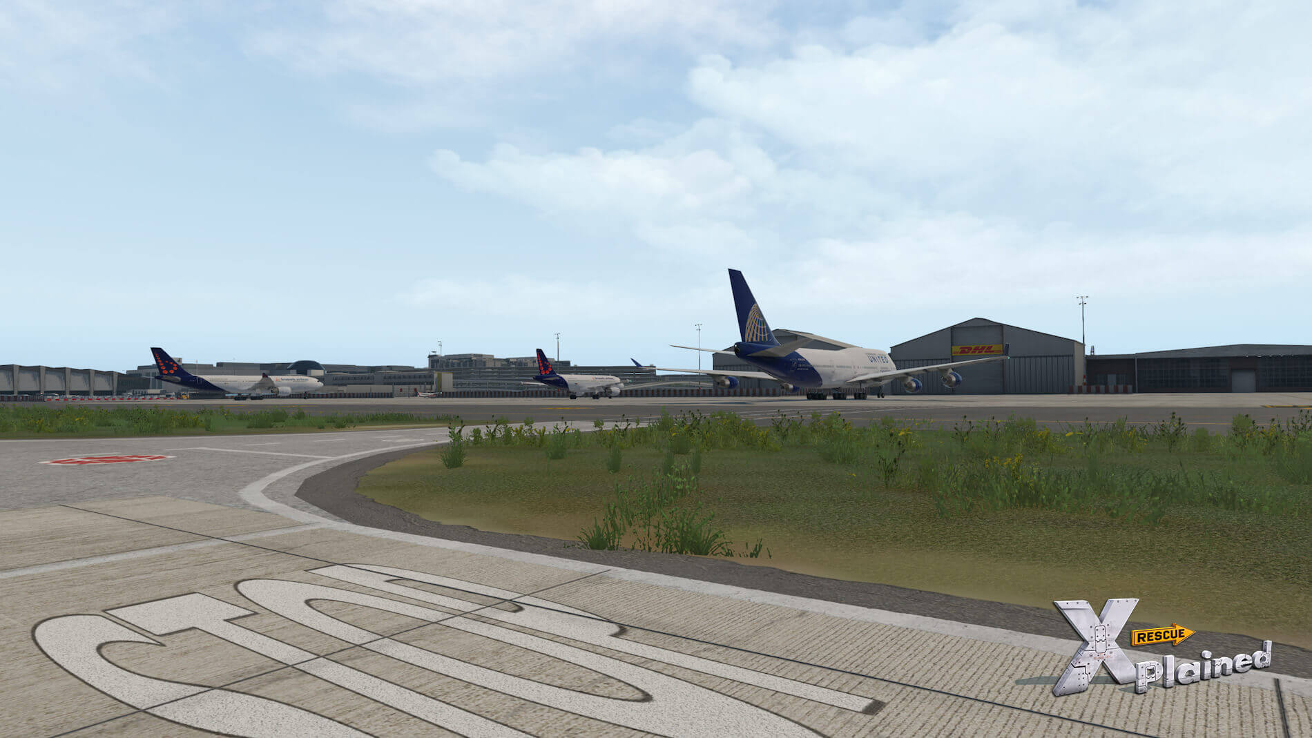 JustSim-EBBR-Airport-52