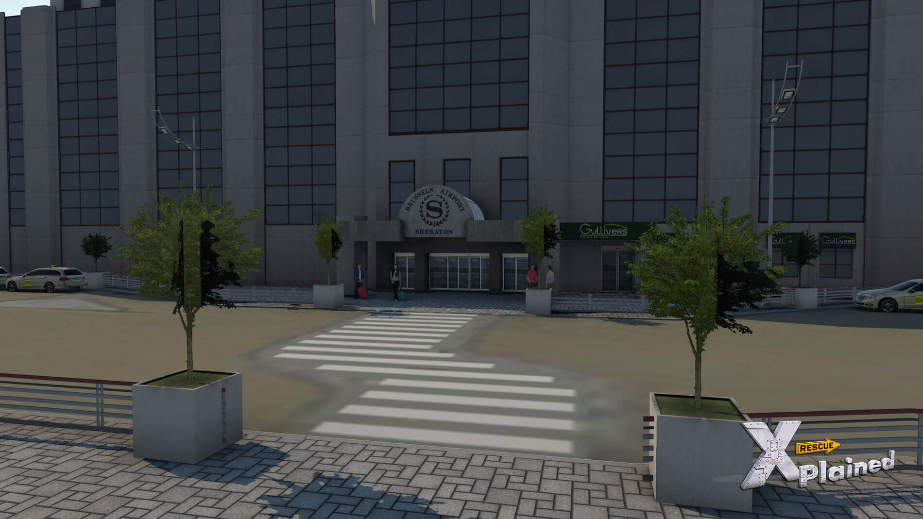JustSim-EBBR-Airport-57