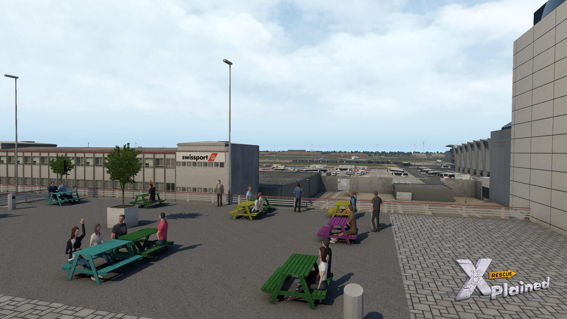JustSim-EBBR-Airport-59