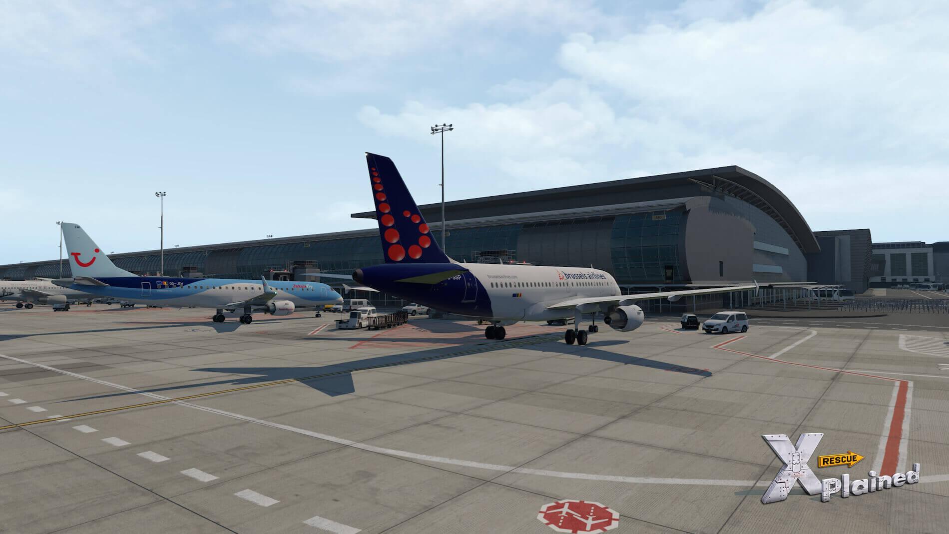 JustSim-EBBR-Airport-7