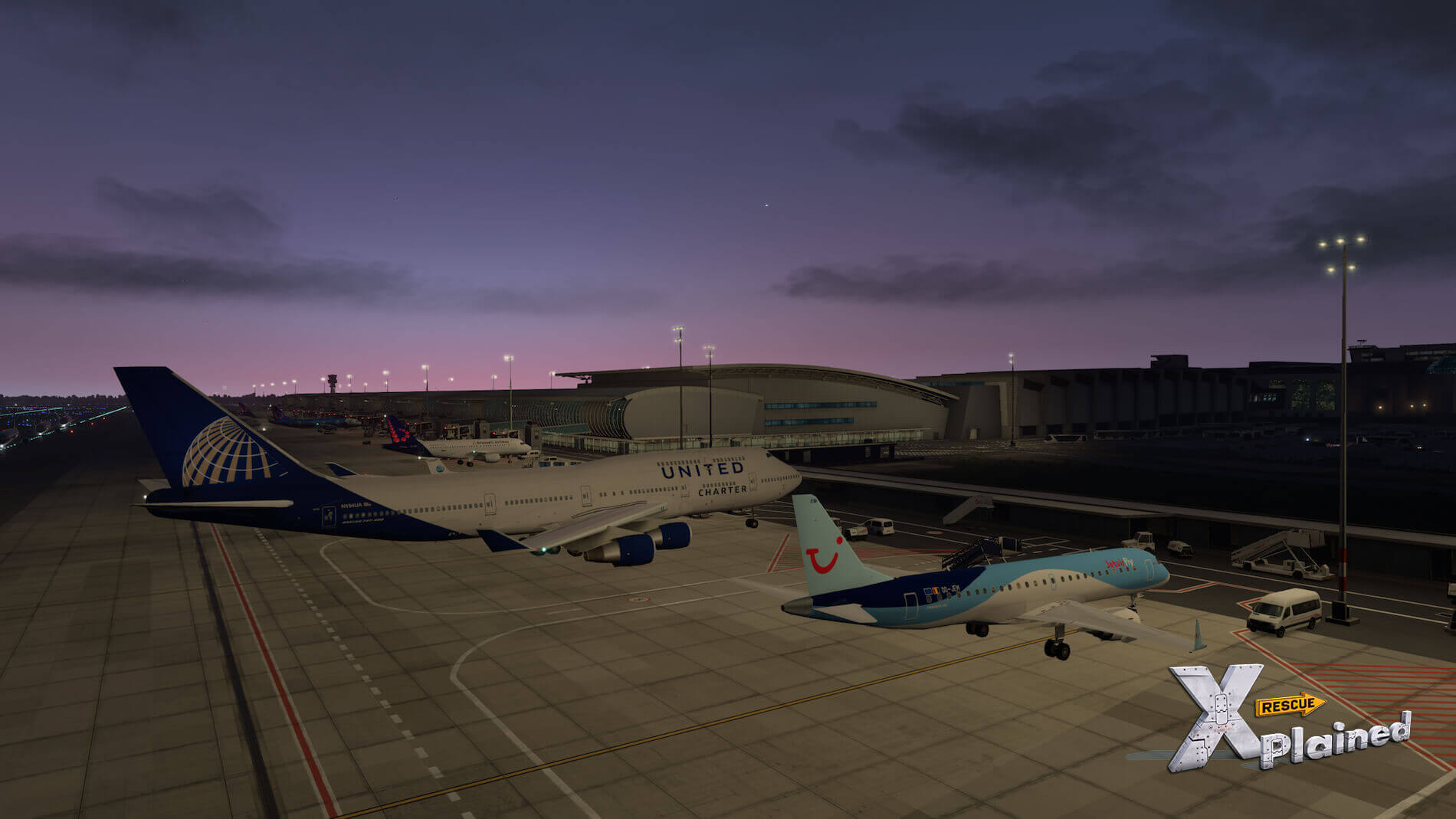 JustSim-EBBR-Airport-70