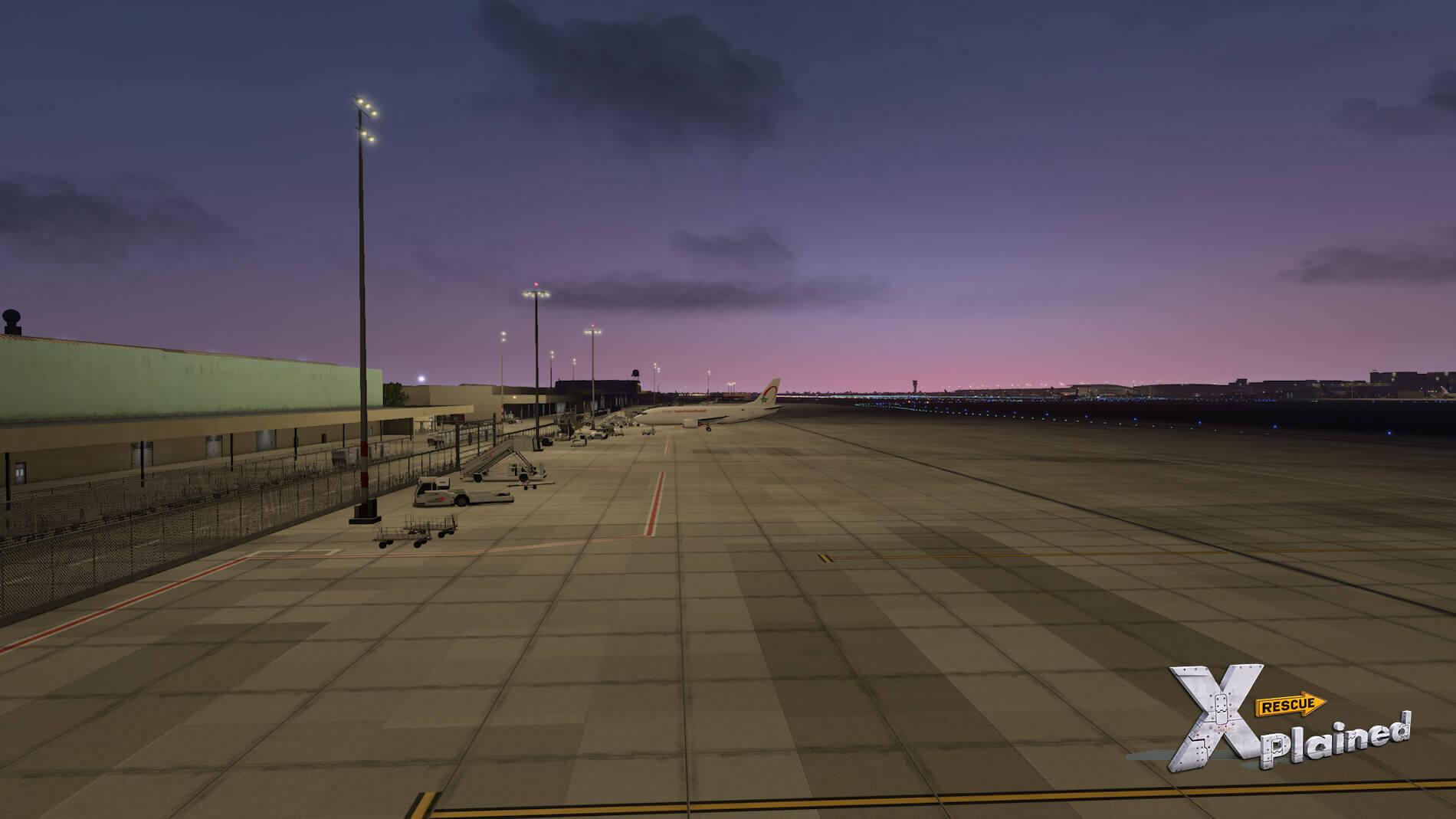 JustSim-EBBR-Airport-74
