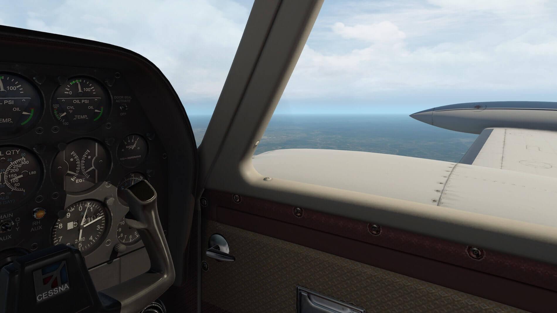 Milviz Cessna 310R_10