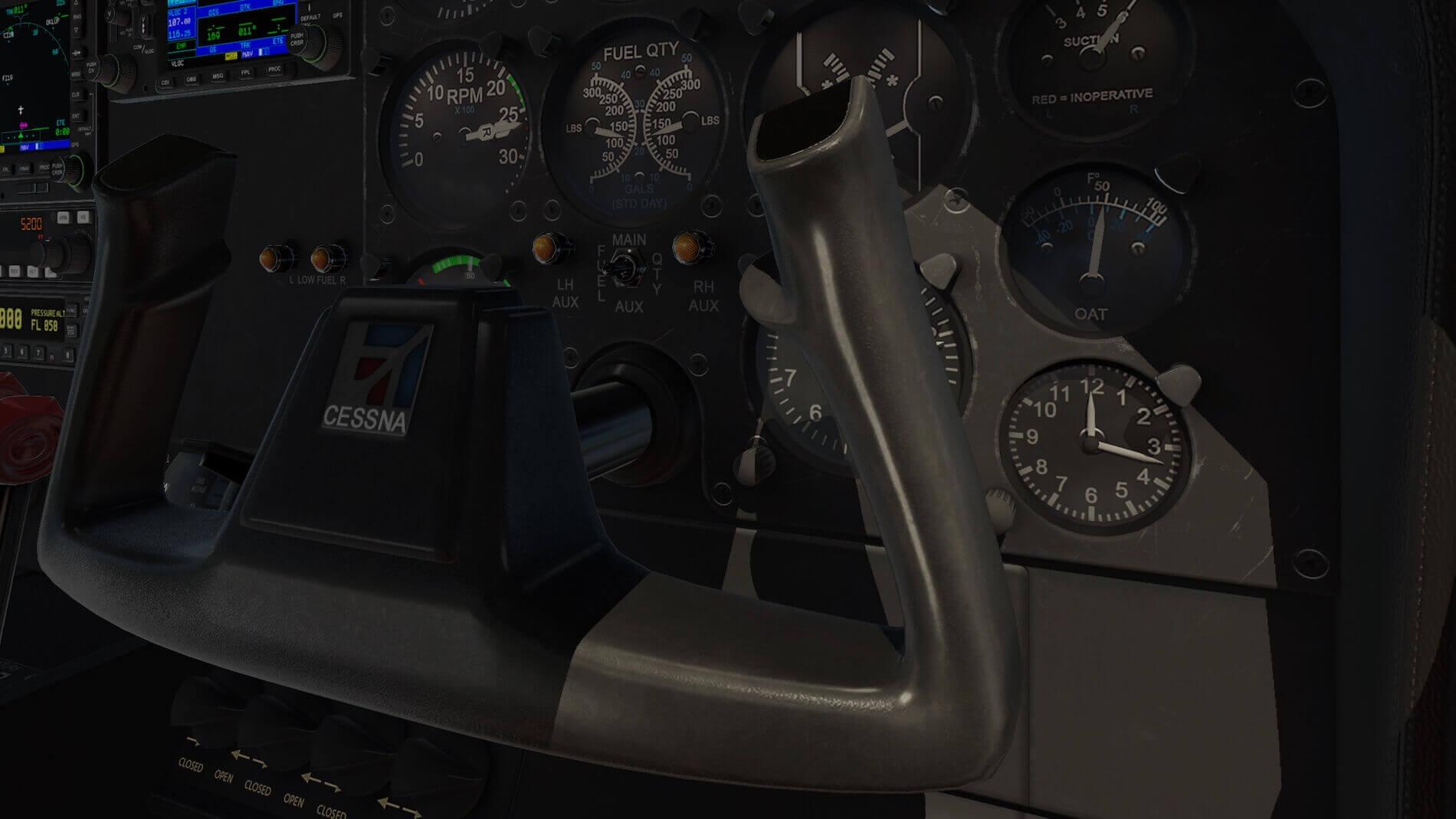Milviz Cessna 310R_11
