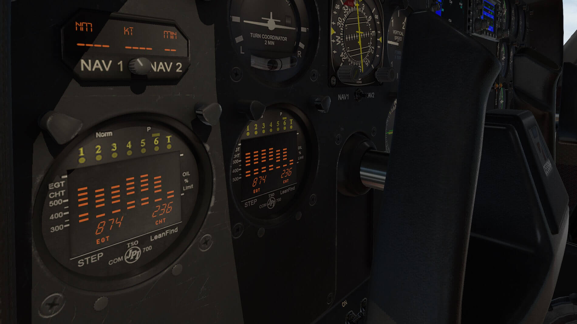 Milviz Cessna 310R_14